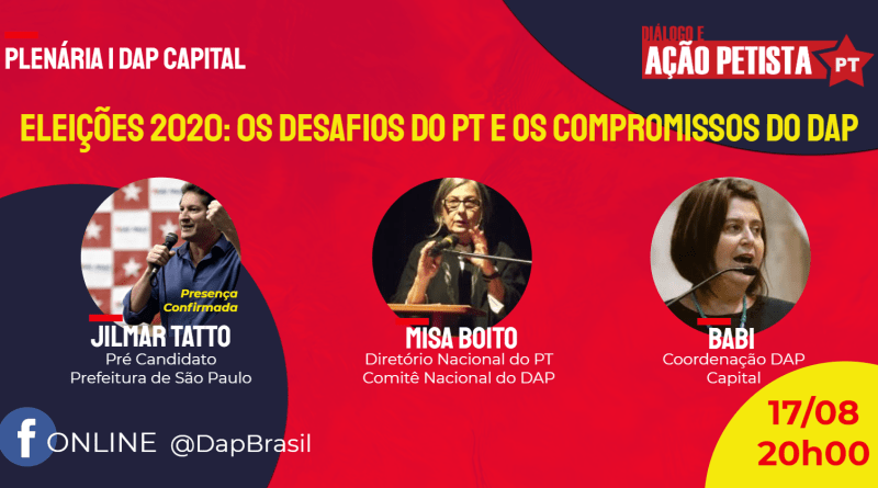 plenária dap capital