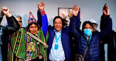 vitoria de Luis Arce na Bolivia