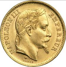20 francs or tête laurée