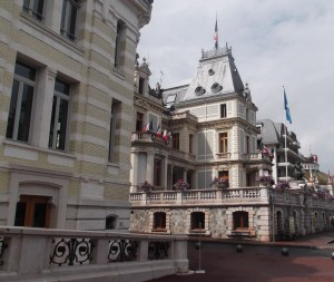 Thermes d'Evian: ville