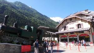 Chamonix, gare du Petit Train