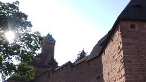 Alsace, château du Haut Koenigsbourg