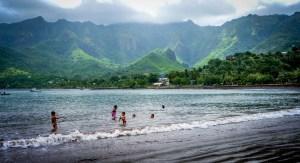 Enfants îles Marquises, éducation