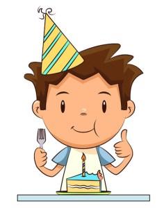 Tom gateau anniversaire