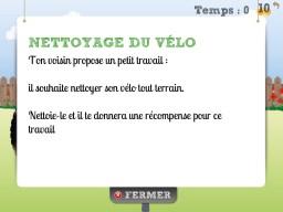 Dilemme Junior : nettoyage du vélo