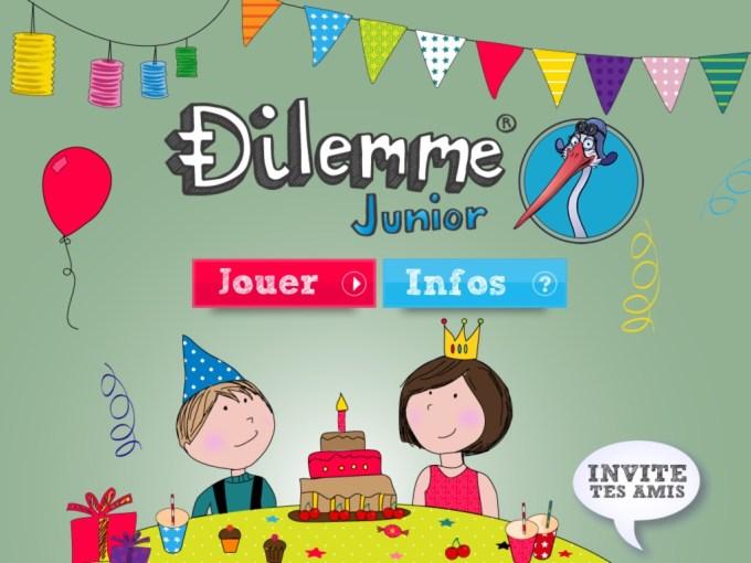 Dilemme Junior : accueil