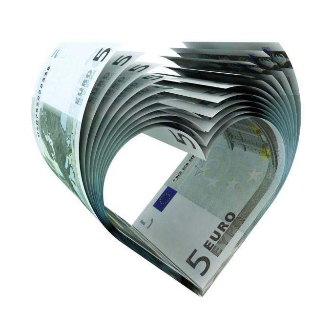 Coeur en billets