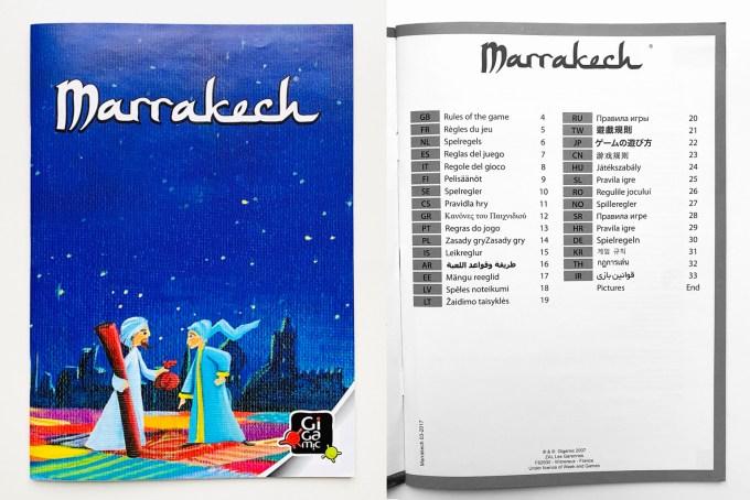 Marrakech - Règles du jeu