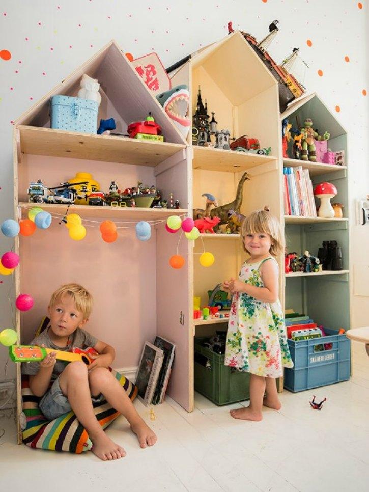 Interieur & kids | Gedeelde kinderkamer voor hippe kids (Shared kids room) - Woonblog StijlvolStyling.com