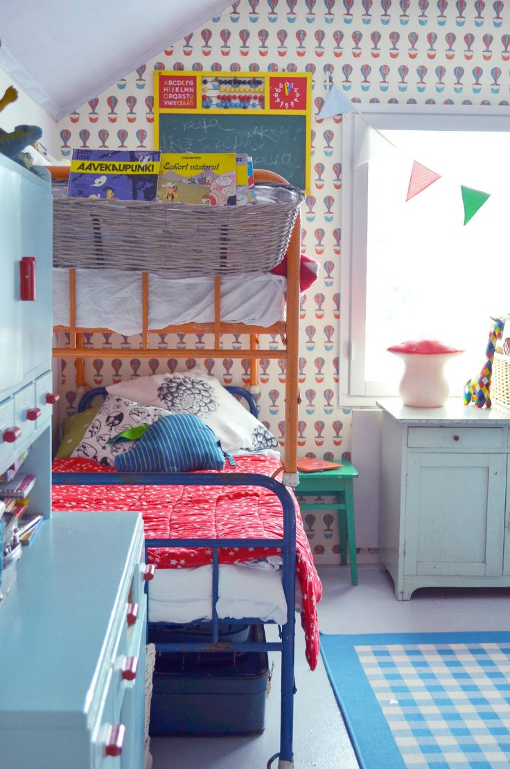 Modern Kids Rooms With Bunk Beds Petit Small