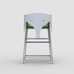 Elephant High Chair Back Recliner Chairs Hatiban Petit Small