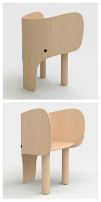 Elephant Chair & Table by Marc Venot - Petit & Small