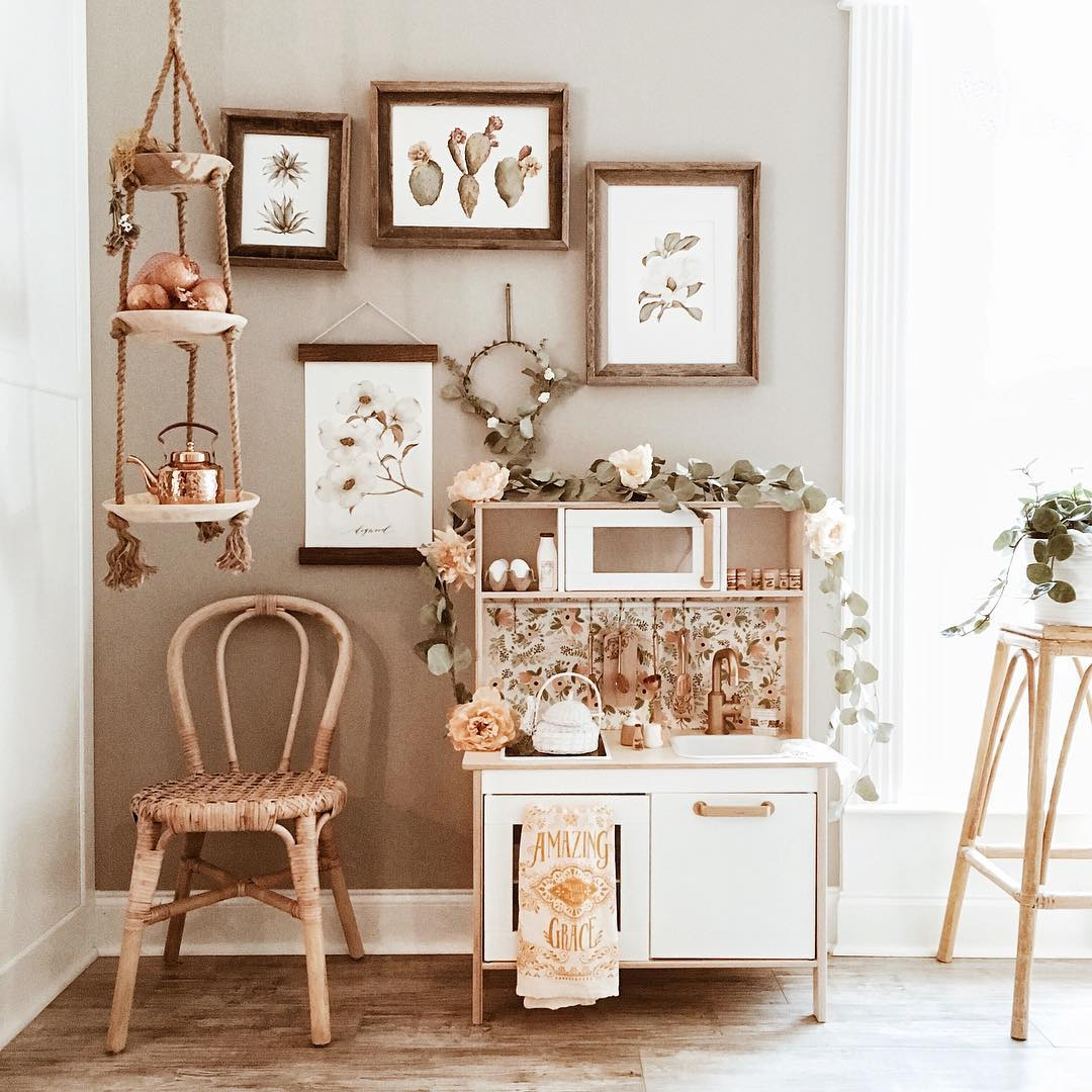 kitchen furniture ikea floor tiles 6 play hacks that you ll want to make today petit small we are big fans of and not just for their makes some very stylish toys too one our favourites is the duktig