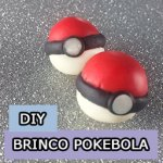 DIY: Brincos de Pokebolas (vídeo)