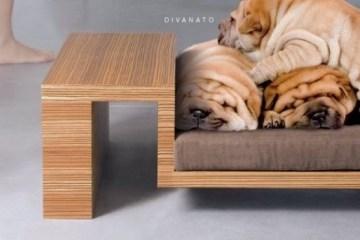 canape en palette pour chien