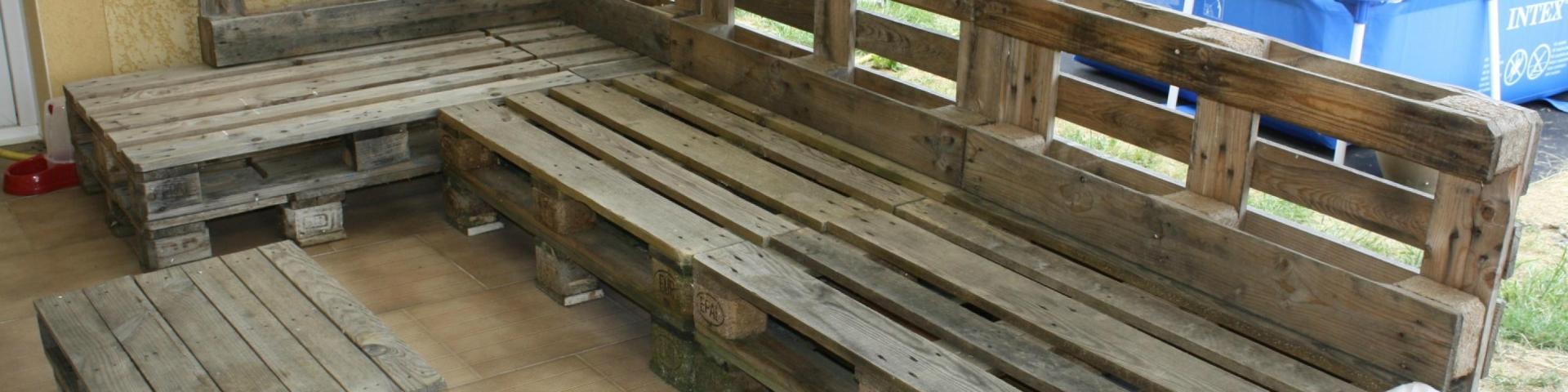 canape palette de bois