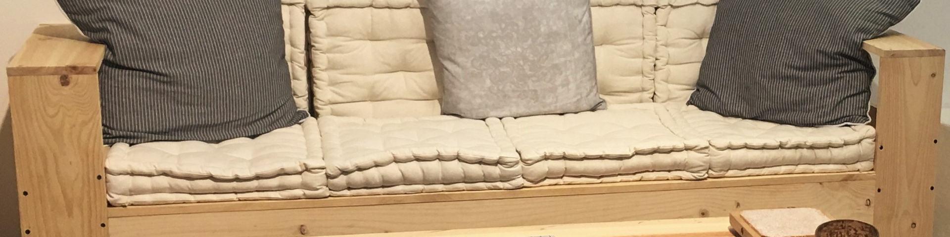 comment faire une canapé en palette