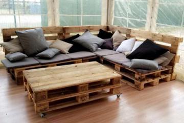 assise pour canape palette