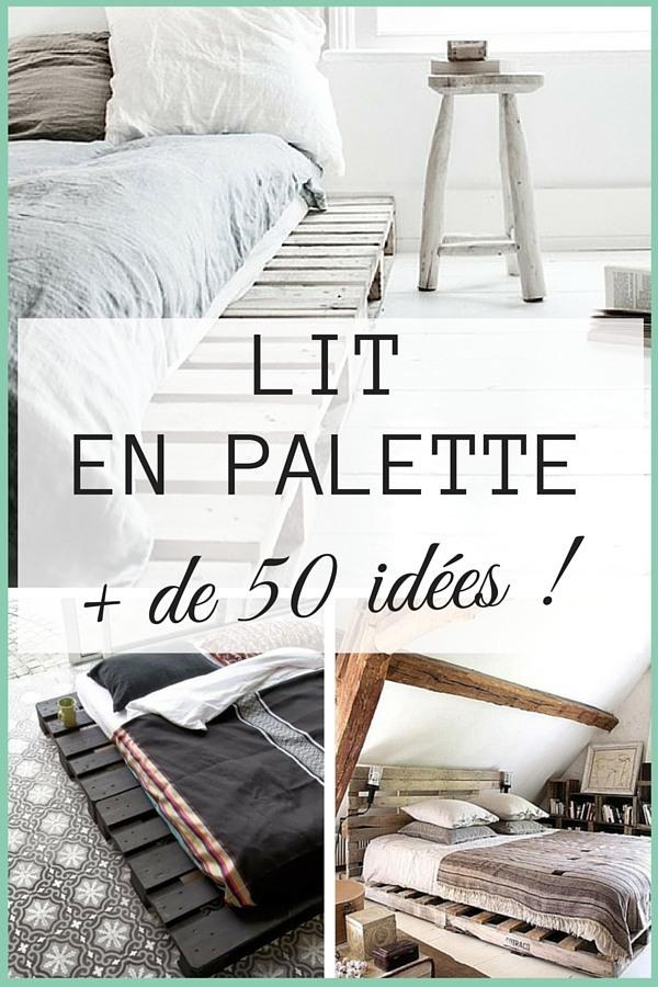 Canape lit palette bois canap palettes - Canape palette bois ...
