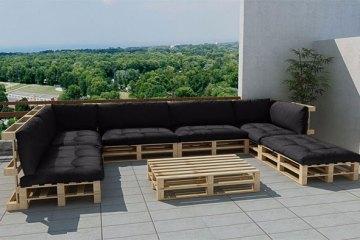 canapé meuble palette