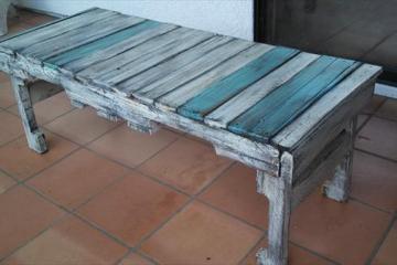 canapé sur palette