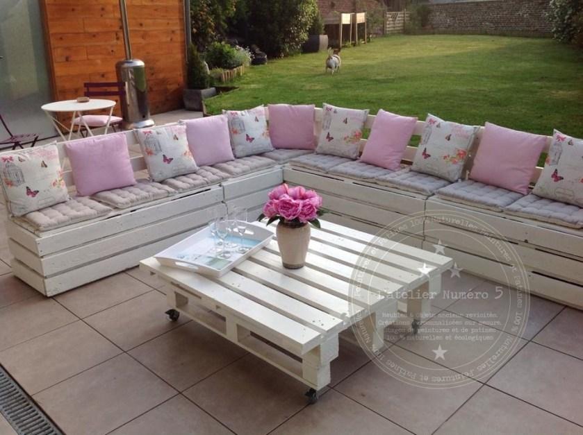 Salon De Jardin En Palette Mode D'emploi