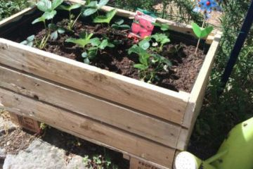 Salon De Jardin En Palettes Plan