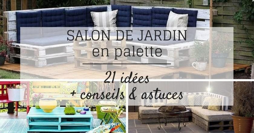 Tuto Salon De Jardin En Palette