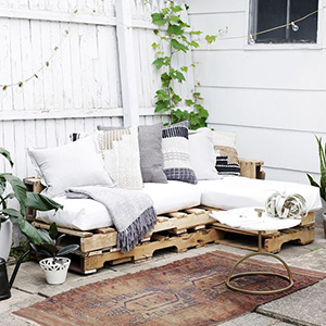 plan de salon de jardin en palette