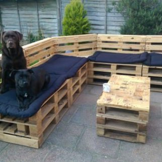 Construire Son Salon De Jardin En Palette