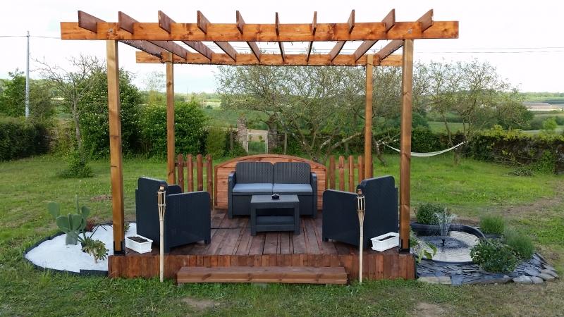 Fabriquer Un Salon De Jardin En Bois