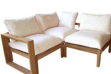 canapé d angle de jardin