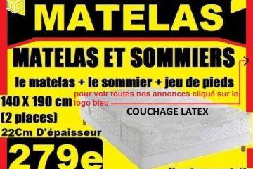 Destockage Matelas Et Sommier