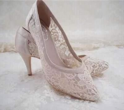 sandales rose poudrée mariage