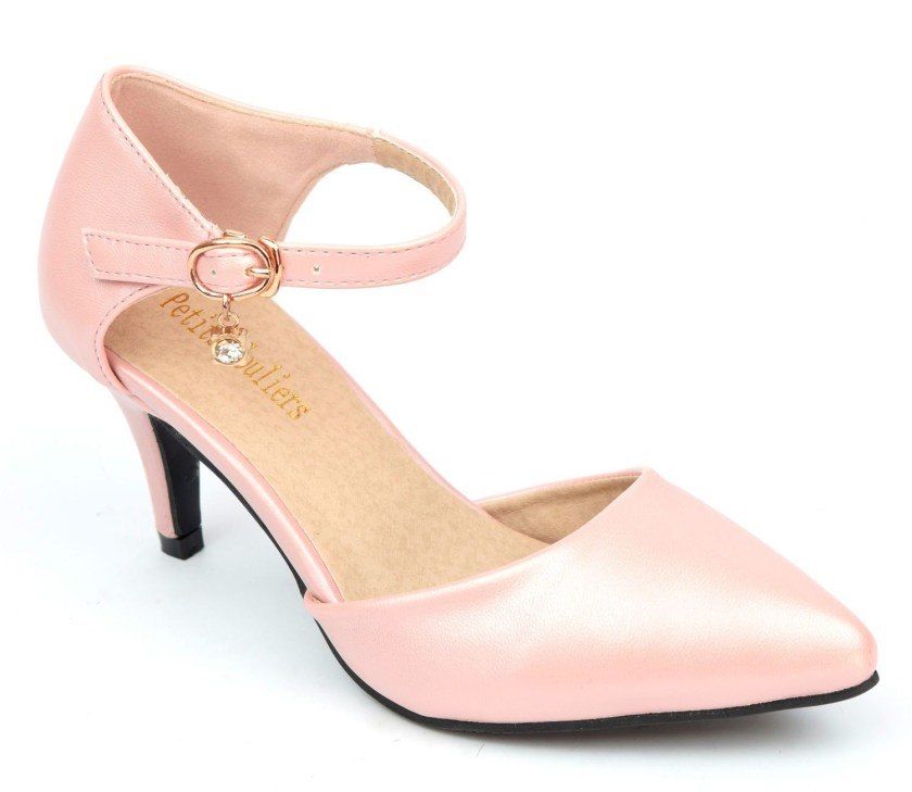 chaussure mariage rose