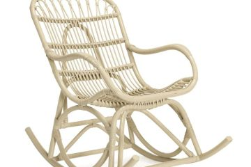 fauteuil en rotin intérieur