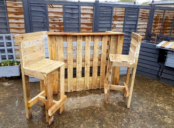 bricolage avec palettes de bois