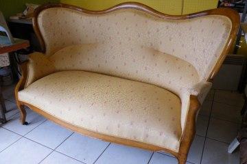 canapé ancien louis philippe