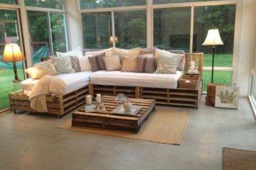 fabriquer un canapé avec des palettes