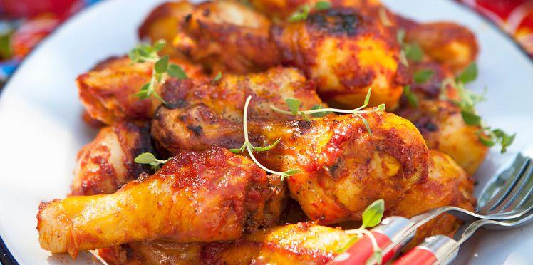 recette de poulet basquaise facile