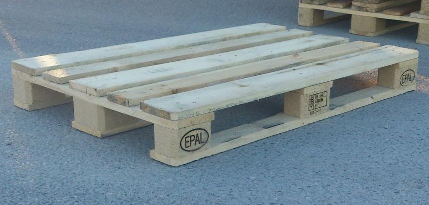taille des palettes en bois