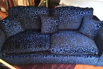 coussin moderne pour canapé