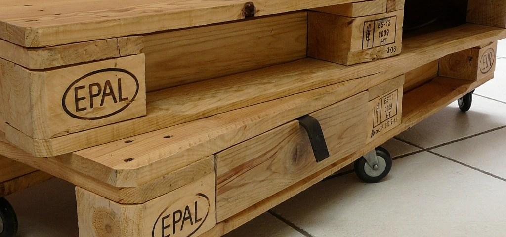 palettes de bois