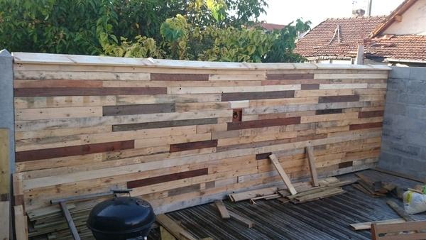 idée récup palette en bois