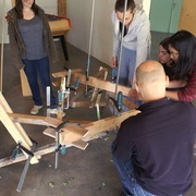 fabrication de fauteuil en palette