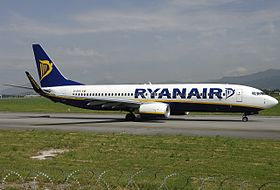 carte ryanair destination