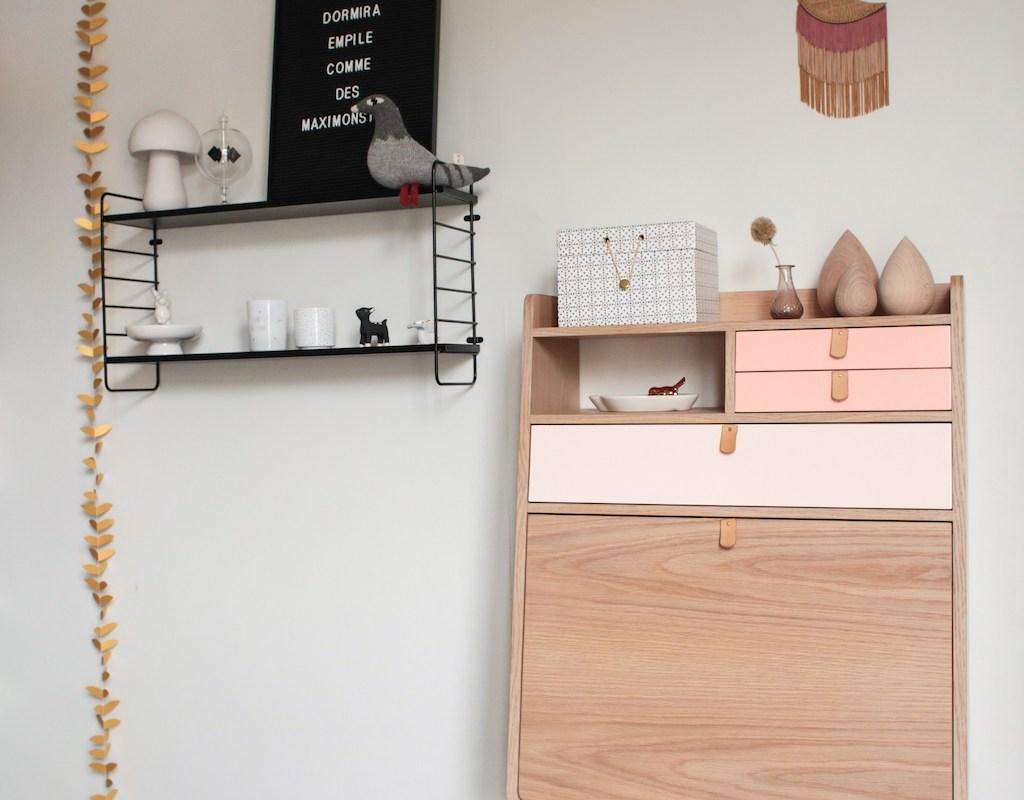 Bureau Secretaire Petit Espace mon beau bureau hartô - petit champignon de paris