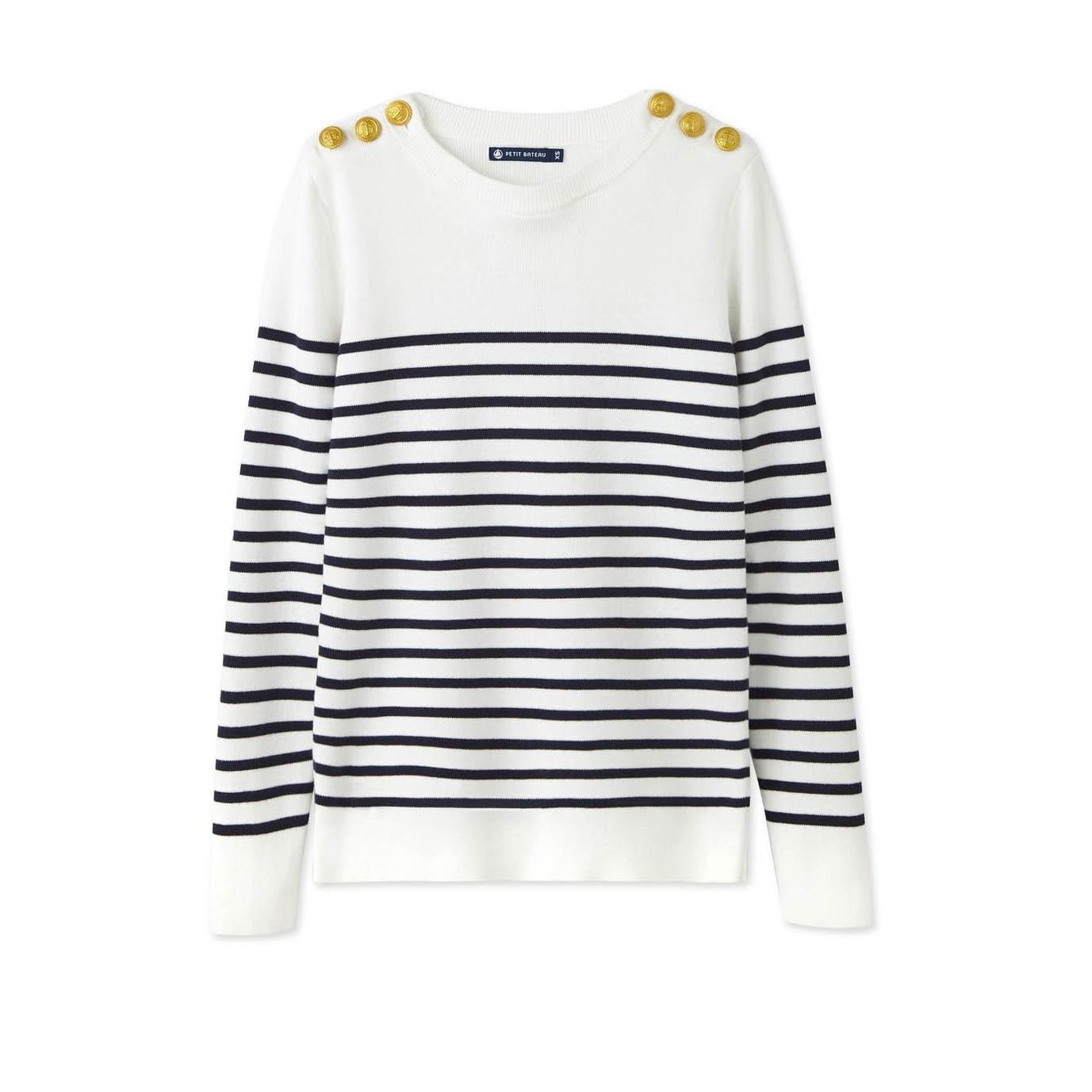 petit-bateau-la-redoute-marin-femme-coton-soldes
