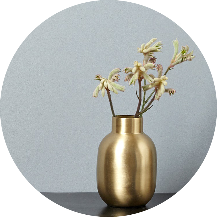 soliflore-metal-brosse-cyrillus-soldes-or-vase
