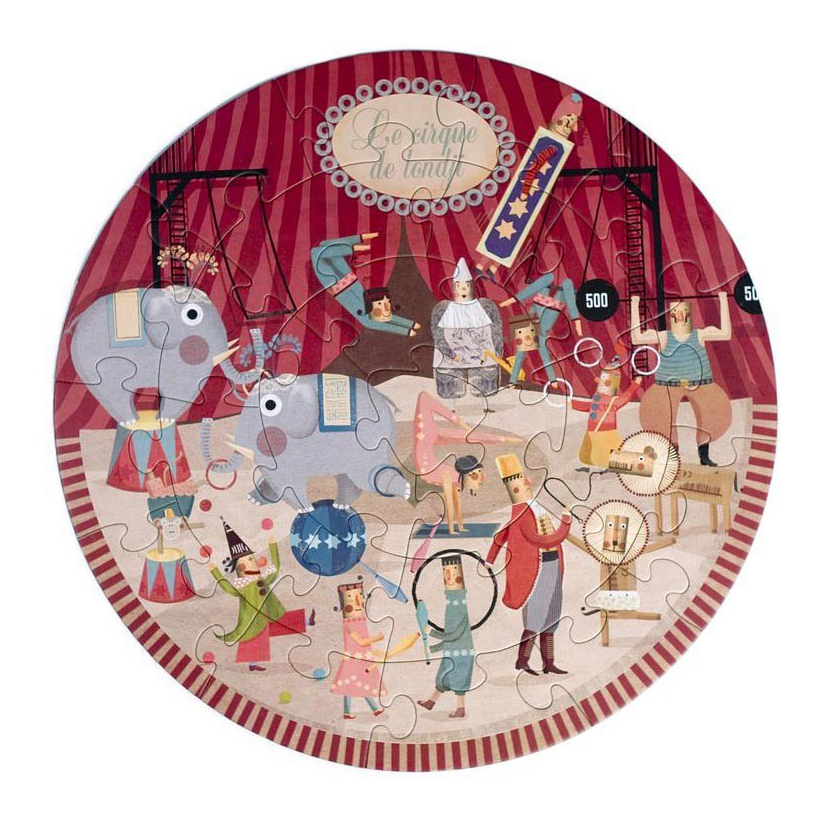puzzle-rond-londji-circus-cirque